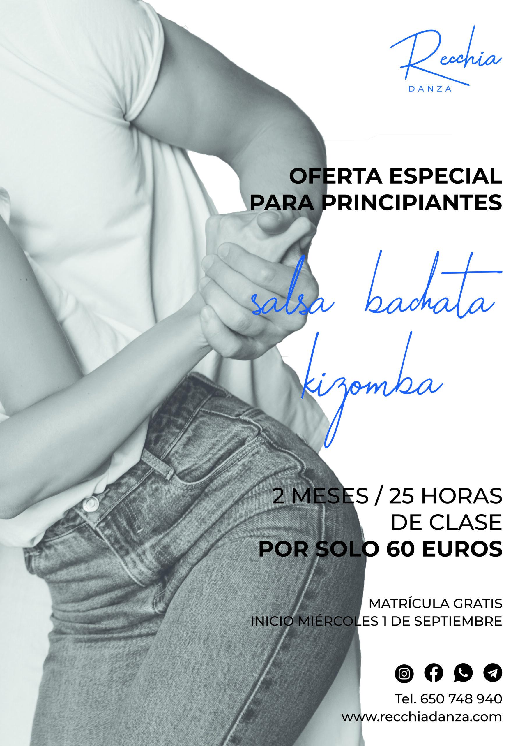 precio clases de baile salsa bachata kizomba tango